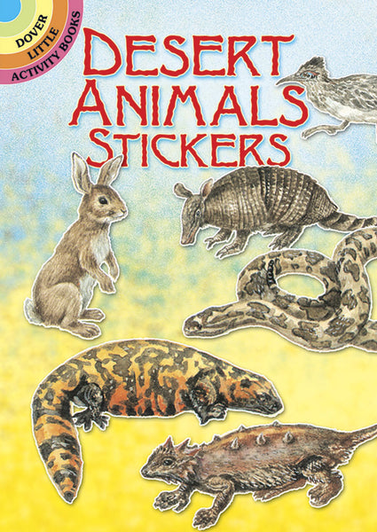 Desert Animals Stickers (Mini Dover)
