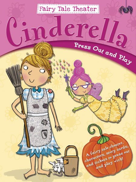 Fairy Tale Theater - Cinderella: Press Out and Play