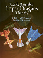 Cut & Assemble Paper Dragons