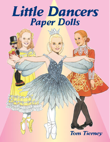 Little Dancers Paper Dolls