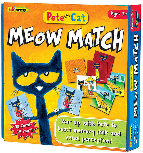 Pete the Cat Meow Match