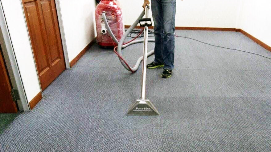 professional carpet cleaner soft water