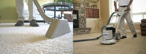 carpet cleaners use portable water softener