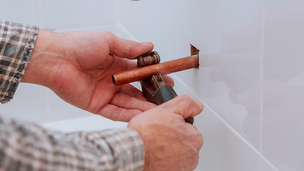 copper pipe used in homes