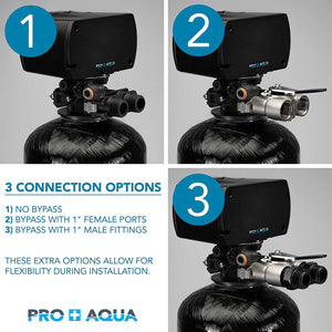 Pro+Aqua - PRO-WELL-1E Whole House Well Water Filtration System