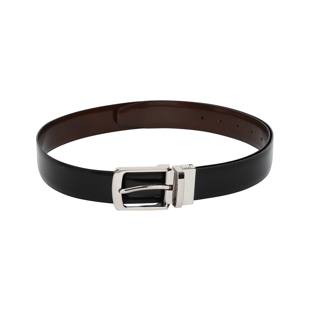 Genuine leather reversible belts