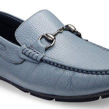 Load image into Gallery viewer, Men's Genuine Leather Loafer with buckle