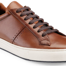 Load image into Gallery viewer, Men's Brown Leather Sneaker