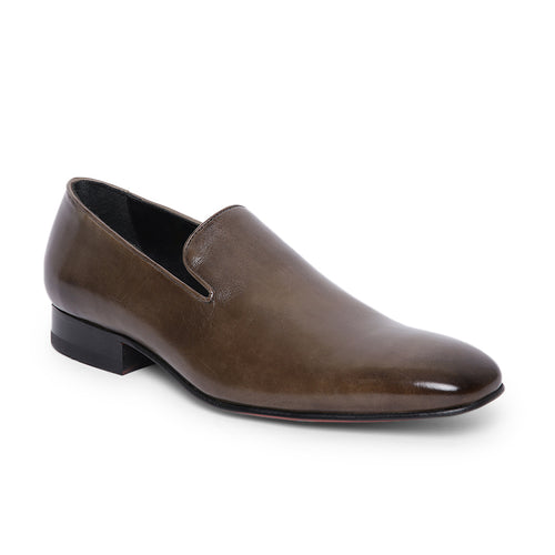 Men's Party slip-on shoe with glossy leather