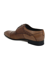 Load image into Gallery viewer, JOE SHU Men's Leather Lace-up Derby Shoe with Cap Toe