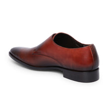Load image into Gallery viewer, Men's Genuine leather Slip-on Shoes with Single Monk Strap