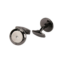 Load image into Gallery viewer, A pair of metal cufflinks