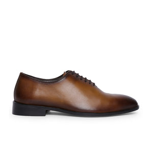 Men's Formal Genuine Leather Oxford Lace-up Shoes