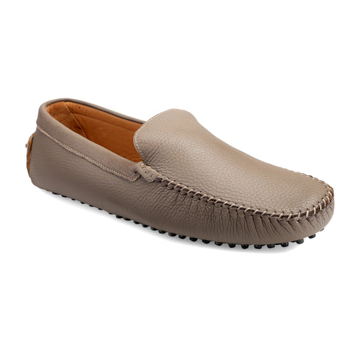 Men's Camel Casual Leather Loafers