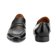 Load image into Gallery viewer, Men's Genuine Leather Semi-Formal Slip-on Shoes