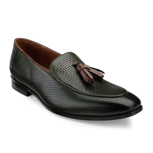 Men's Tasseled Casual Leather Slip-on shoes