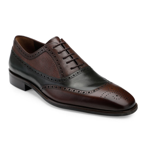 Men's Formal dual tone Lace-up Shoes with brogue