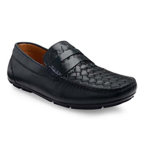 Men's Casual Leather Moccasin Loafers