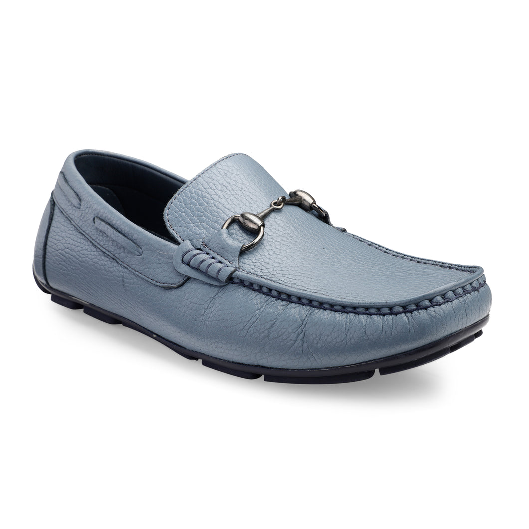 Men's Genuine Leather Loafer with buckle