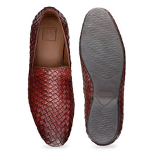 Load image into Gallery viewer, Men's Casual Loafer Shoes with in Weave