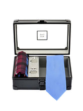 Load image into Gallery viewer, Silk Tie, Hanky & Cufflinks Combo
