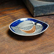 Load image into Gallery viewer, Syliva Leuchovius Blue Bird Bowl - c.1960