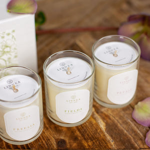 Linnea's Spring Meadows Votive Trio