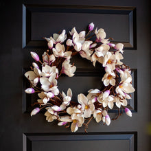 Load image into Gallery viewer, Japanese Magnolia Wreath