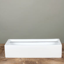Load image into Gallery viewer, Balcony trough- Matte white