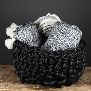 Black Neo colosso basket