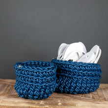 Load image into Gallery viewer, Navy Neo basket
