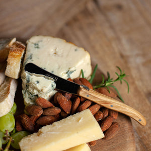 Laguiole Cheese Knives - Olivewood