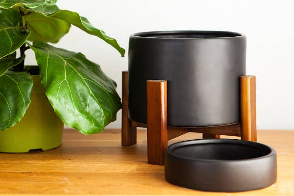Mid-Century Inspired Table-Top Planter