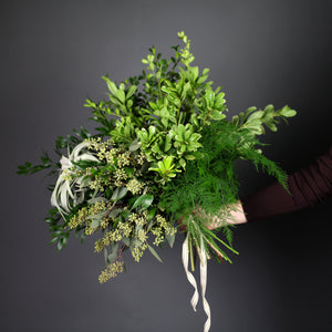 Hand-tied Greens Bouquet