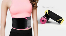 Load image into Gallery viewer, Sweating and fat reducing belt for weight loss and binding belt for weight loss