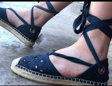 Load image into Gallery viewer, Espadrille Sandals for women, casual shoes for women