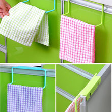 Load image into Gallery viewer, Kitchen Organizer Towel Rack Hanging Holder Bathroom Cabinet Cupboard Door Back Hanger Kitchen Supplies Accessories Cocina