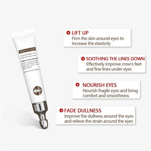 Eye Cream Peptide Collagen Serum Anti-Wrinkle Anti-Age Remove Dark Circles Eye Care Against Puffiness And Bags Hydrate Eye Cream