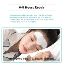 Load image into Gallery viewer, Ilisya Forehead Wrinkle Pads Moisturizing Patches Wrinkle Removal Facial Strips Mask Forehead Patch Stick Plant Essential Oil
