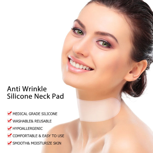 Chest Wrinkle Removal Pad Anti-wrinkle Stickers Frown Lines Treatment Anti-aging Lifting Forehead Line Moisture Patch Skin Care