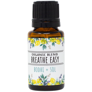 Organic Breathe Easy Essential Oil Blend