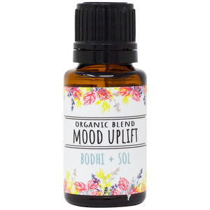 Organic Mood Uplift Essential Oil Blend
