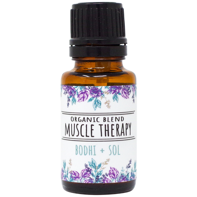 Organic Muscle Therapy Essential Oil Blend