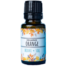 Load image into Gallery viewer, Organic Orange Essential Oil