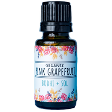 Load image into Gallery viewer, Organic Pink Grapefruit Essential Oil