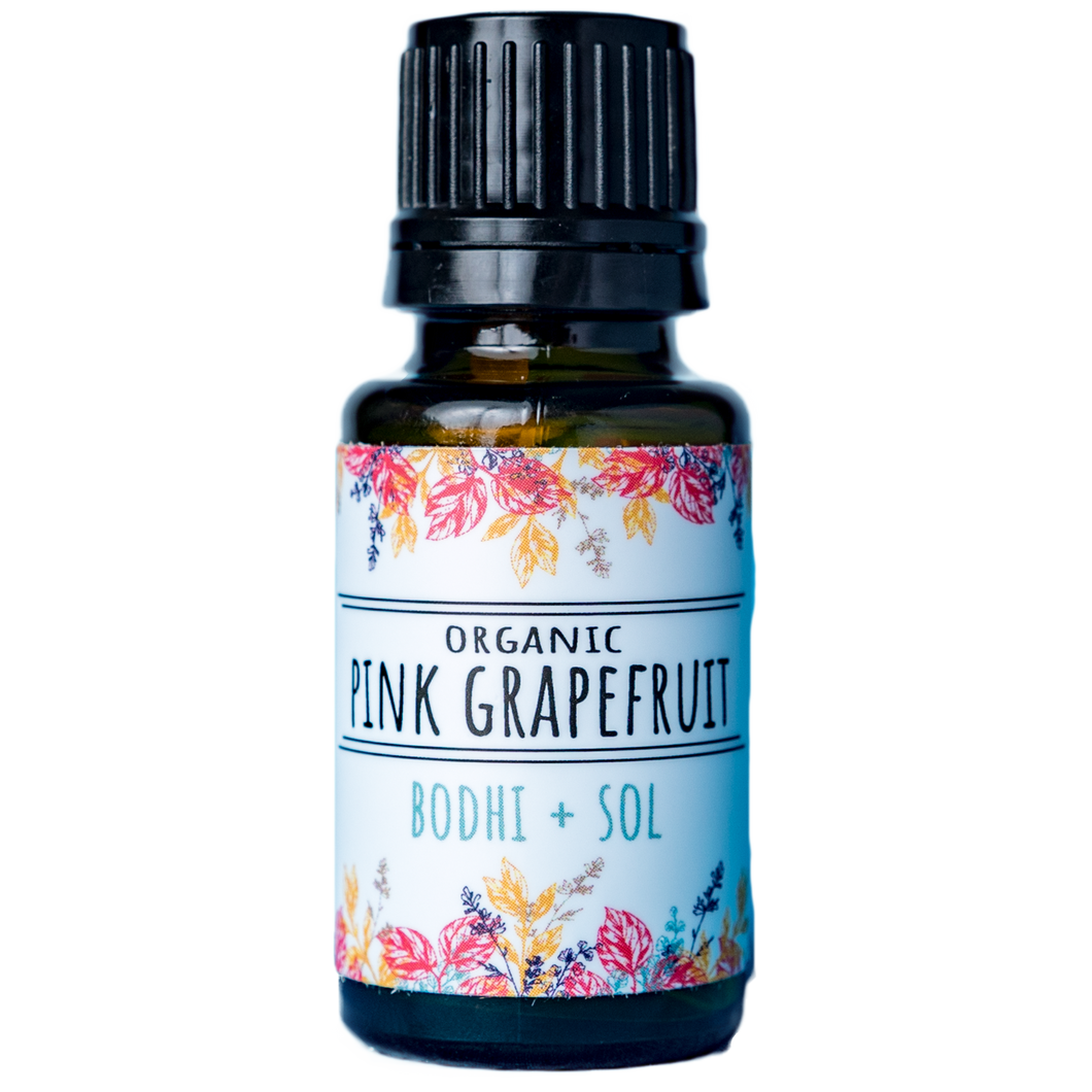 Organic Pink Grapefruit Essential Oil