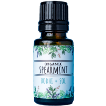 Load image into Gallery viewer, Organic Spearmint Essential Oil