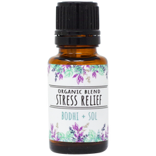 Load image into Gallery viewer, Organic Stress Relief Essential Oil Blend