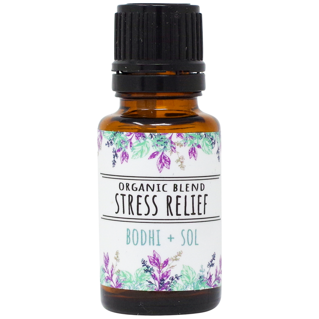 Organic Stress Relief Essential Oil Blend