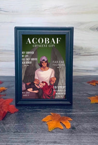 ACOBAF Magazine May 5x7 double sided print